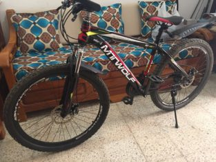 Privé: vélo noir MTWOLF