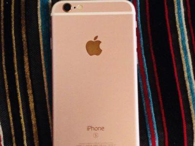 Privé: iPhone 6s rose gold