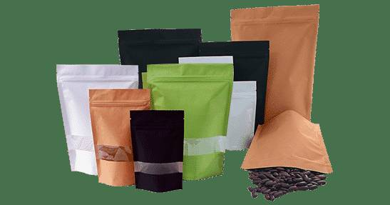Buy Paper Bags with Transparent Window (Dubai)