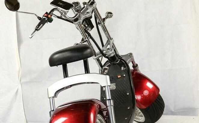 Economy friendly Citycoco 3000W electric scooter Big Wheel